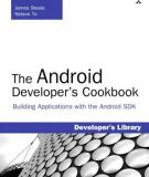 The Android Developer's Cookbook: Building Applications with the Android SDK Preface