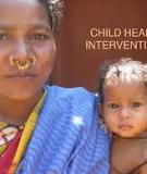 Child health interventions