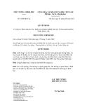 Quyết định số 1010/QĐ-TTg