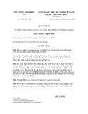 Quyết định số 1041/QĐ-TTg