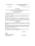 Quyết định số 1042/QĐ-TTg
