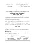 Quyết định số 09/2012/NQ-HĐND