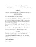 Quyết định số 1203/QĐ-TTg