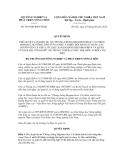 Quyết định số 1843/QĐ-BNN-HTQT