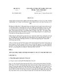 Báo cáo số 2960/BC-BNV