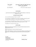 Quyết định số 2442/QĐ-BTP