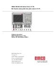 Phần mềm điều khiển máy tiện Emco WinNC GE SERIES FANUC 21 TB