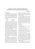 """Báo cáo """" Trợ động từ avoir và être trong tiếng pháp xét dưới góc độ ngữ nghĩa và một số hệ quả sư phạm """""""