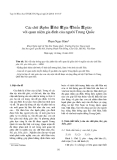 """Báo cáo """"  Các chữ 夫 phu 妻 thê 家 gia 孝 hiếu 教 giáo với quan niệm gia đình của người Trung Quốc """""""