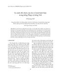 """Báo cáo """"  So sánh đối chiếu câu hỏi về mặt hình thức trong tiếng Pháp và tiếng Việt """""""