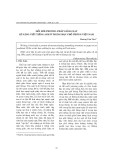 """Báo cáo """" đổi mới phương pháp giảng dạy kĩ năng viết tiếng anh ở trung học phổ thông Việt nam """""""