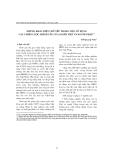 """Báo cáo """" Những khác biệt chủ yếu trong việc sử dụng các chiến lược thỉnh cầu của người việt và người pháp """""""