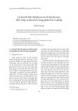"""Báo cáo """" Lý thuyết biến thể phạm trù (X-bar theory): Một công cụ hữu hiệu trong phân tích cú pháp """""""