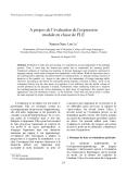 """Báo cáo """" A propos de l'évaluation de l'expression modale en classe de FLE """""""