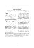 """Báo cáo """"nghiên cứu ứng dụng lý thuyết ngôn bản(1) vào việc dạy học ngoại ngữ """""""