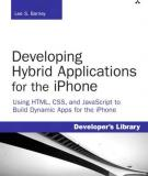 Developing Hybrid Applications for the iPhone