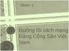 Đề tài: Đường lối cách mạng Đảng Cộng Sản Việt Nam