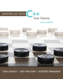 Starting out with C ++ early objects