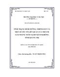 LUẬN VĂN:TÌNH TRẠNG DINH DƯỠNG, NHIỄM GIUN VÀ MỘT SỐ YẾU TỐ LIÊN QUAN CỦA TRẺ EM 12-36 THÁNG TUỔI TẠI HUYỆN ĐAKRÔNG TỈNH QUẢNG TRỊ