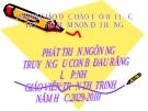 PHÁT TRIỂN NGÔN NGỮ TRUYỆN:GẤU CON BỊ ĐAU RĂNG LỚP:NHỠ