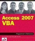 Wrox Access 2007 Vba Programmers Reference