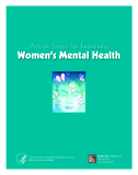 Action Steps for Improving Women's Mental Health