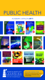 PUBLIC HEALTH ACADEMIC CATALOG 2011