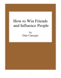 Sách: How to Win Friends and Influence People  by Dale Carnegie