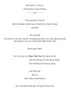 ĐỀ TÀI: ỨNG DỤNG VĂN HOÁ TRONG MARKETING MIX VÀO VIỆC KINH DOANH MẶT HÀNG LỤA TƠ TẰM Ở KHU PHỐ CỔ HÀ NỘI