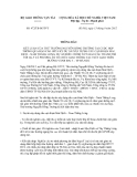 Thông báo số 472/TB-BGTVT