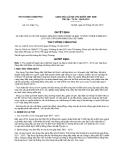 Quyết định số 1117/QĐ-TTg