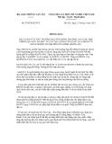 Thông báo số 474/TB-BGTVT