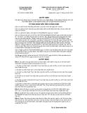 Quyết định số 2032/2012/QĐ-UBND