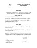 Quyết định số 2962/QĐ-BYT