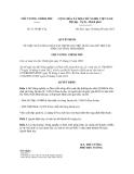 Quyết định số 1179/QĐ-TTg
