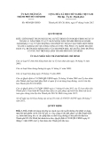 Quyêt định số 4030/QĐ-UBND