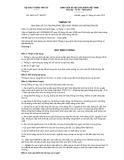 Thông tư số 29/2012/TT-BGTVTCỘNG HÒA XÃ HỘI CHỦ NGHĨA