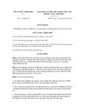 Quyết định số 1112/QĐ-TTg