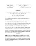Quyết định số 1185/QĐ-UBND