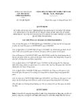 Quyết định số 431/QĐ-HQTH