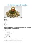 Cà rốt cuộn rong biển lạ miệng