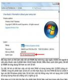 Khác biệt giữa Windows 32bit and 64bit?