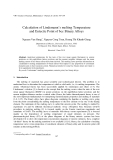 "Báo cáo ""  Calculation of Lindemann's melting Temperature and Eutectic Point of bcc Binary Alloys """