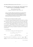 "Báo cáo "" ON THE STABILITY OF ELASTOPLASTIC THIN TRIANGULAR PLATES MADE IN COMPRESSIBLE MATERIAL """