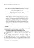 "Báo cáo ""  Photo-catalytic transparent heat mirror film TiO2/TiN/TiO2 """