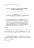 "Báo cáo ""Estimation on efficient of distribute channel allocation schemes for cellular network  """