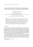 """Báo cáo """" Analysis and identification of multi-variate random pressure fields using covariance and spectral proper transformations """""""