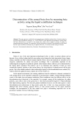 """Báo cáo """"  Determination of the annual beta dose by meaming beta activity using the liquid scintillation technique """""""