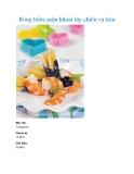 Rong biển cuộn khoai tây chiên và tôm