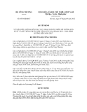 Quyết định số 4539/QĐ-BCT